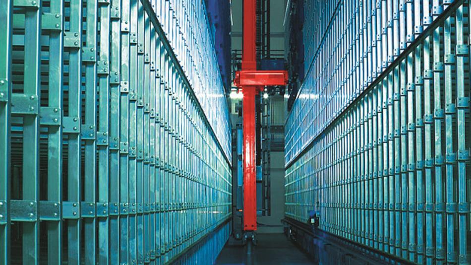 Das Hochregallager von Reichelt bietet heute Platz für 150.000Produkte.