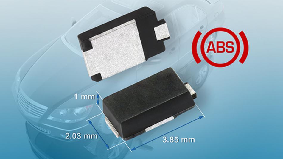 Ab sofort sind die neuen Ultrafast-Gleichrichter in Muster- und Produktionsstückzahl lieferbar.