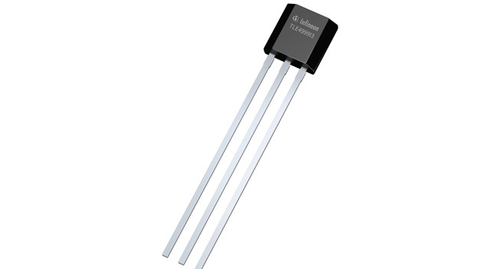 Der Xensiv TLE4999I3 von Infineon ist ein monolithisch integrierte Linear-Hall-Sensor für ASIL-D-Systeme.