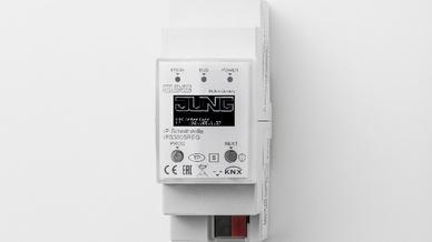 Jung IP-Router und IP-Schnittstelle verbinden via IP KNX-Geräte mit dem PC oder anderen Datenverarbeitungsgeräten.
