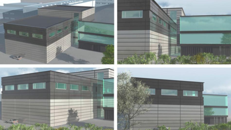 So wird der neue Reinraum der EV Group am Stammsitz in St. Florian am Inn aussehen, mit dem die EV Group die Kapazirtäten verdoppelt.