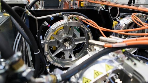 Eingebauter Siemens-Elektroantrieb