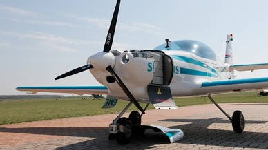 Elektroflugzeugs Magnus eFusion