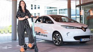 In Kooperation mit Tier Mobility bietet Sixt in Kürze auch E-Scooter, die über die App buchbar sind.
