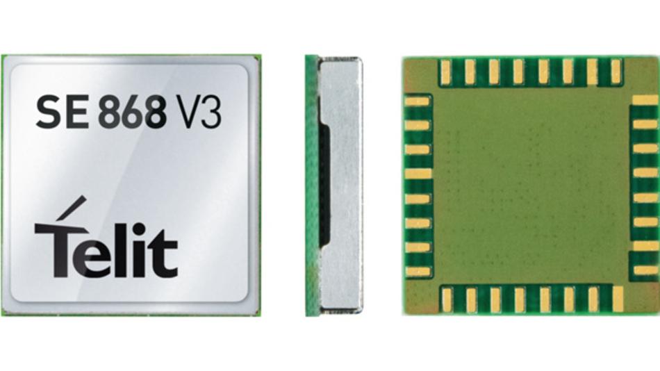 Das Telit SE868-V3 kann alle  Signale sämtlicher Systeme empfangen