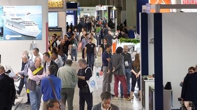 Besucher auf der SPS Italia 2019