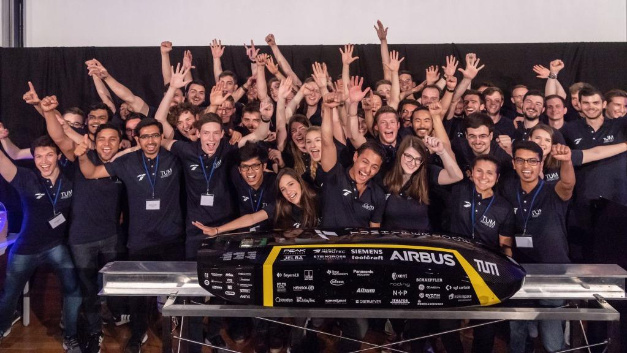 The TU Munich team is looking forward to the competition, where they will compete with the new Pod.