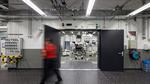 Prüfstandszugänge im neuen Antriebsprüfgebäude, Porsche Entwicklungszentrum Weissach