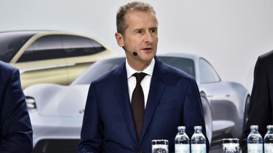 Herbert Diess,大众汽车股份公司董事会主席。