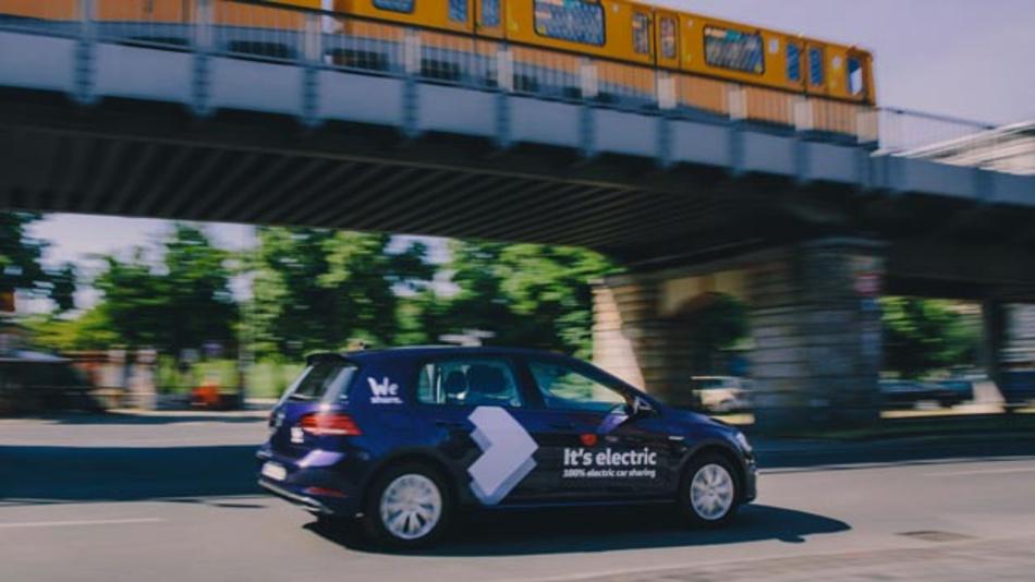 In Berlin startete Volkswagen seinen Carsharing-Dienst WeShare.