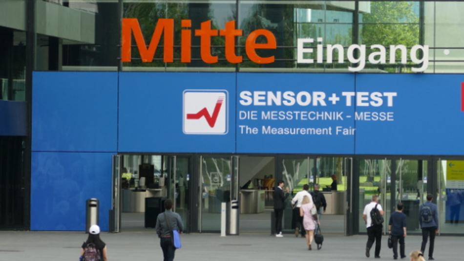 Zur Sensor + Test kamen rund 7000 Fachbesucher und 540 Aussteller.