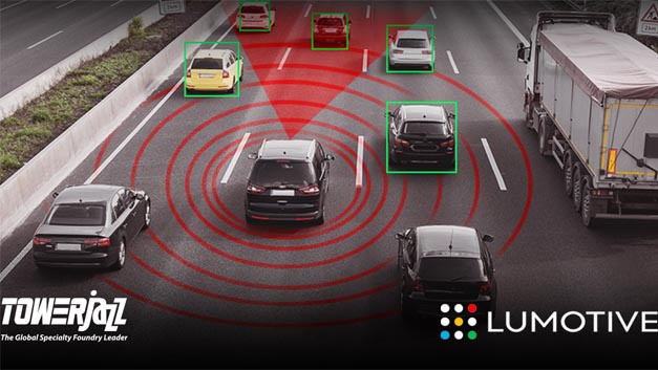 Lumotive und TowerJazz produzieren gemeinsam erste Strahlführungs-ICs für Automotive LiDAR-Systeme.