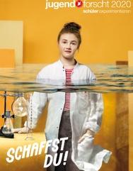 Plakat für Jugend forscht 2020, hoch
