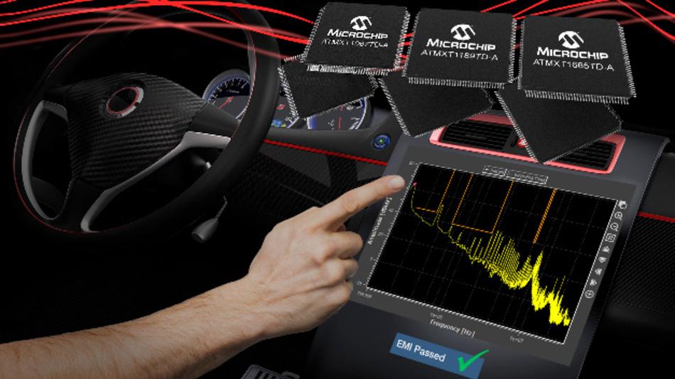 Die neuen Controller MXT1067TD, MXT1189TD und MXT1665TD eignen sich für 9- bis 13-Zoll-Touchscreens.
