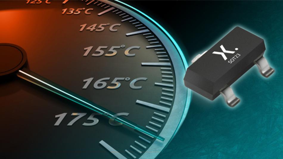 Schaltdioden und Kleinsignaltransitoren im SOT23-Gehäuse für 175 °C.