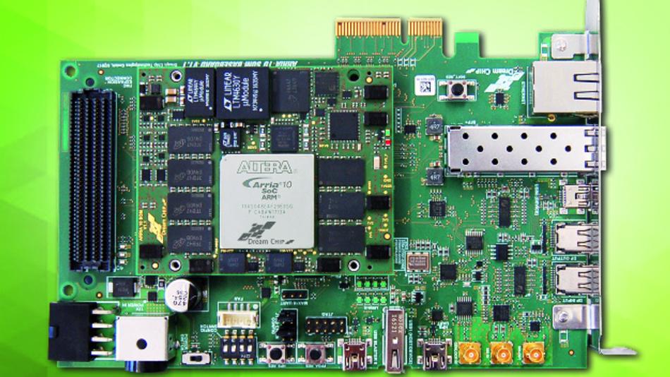 Das System on Module von Dream Chip kombiniert die komplette Funktionalität eines Computers mit der Bild- und Videoverarbeitung auf einem kompakten Board mit Abmessungen von 29 mm x 29 mm.
