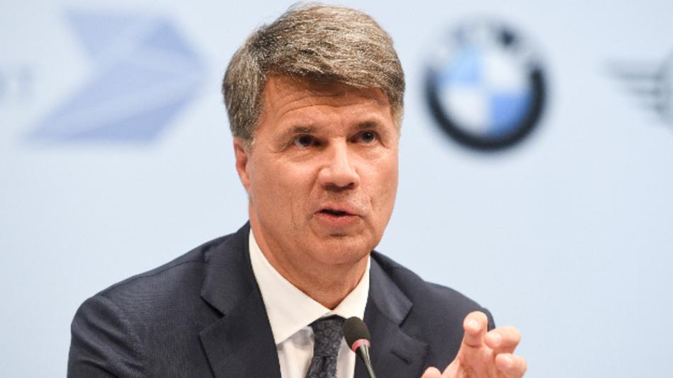 Harald Krüger, Vorstandsvorsitzender der BMW AG, bei der Bilanz-Pressekonferenz.