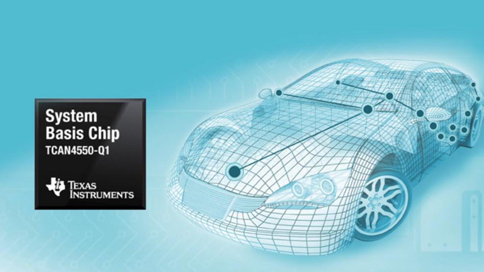 Der neue SCB von Texas Instruments ermöglicht ein schnelles und einfaches Upgrade auf CAN FD.