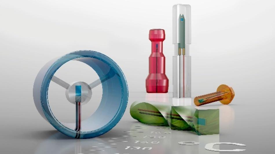 Mögliche Formen von plastoSENS-Temperaturfühlern