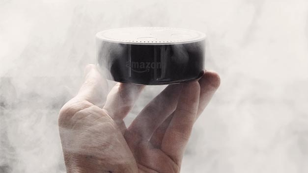 Amazon Echo Dot: Daten in der Cloud