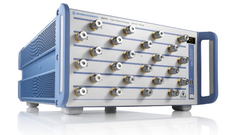 Marvin Test Systems nutzt die 24-Ports des Netzwerkanalysators R&S ZNBT40 für die Charakterisierung von 5G-ICs.