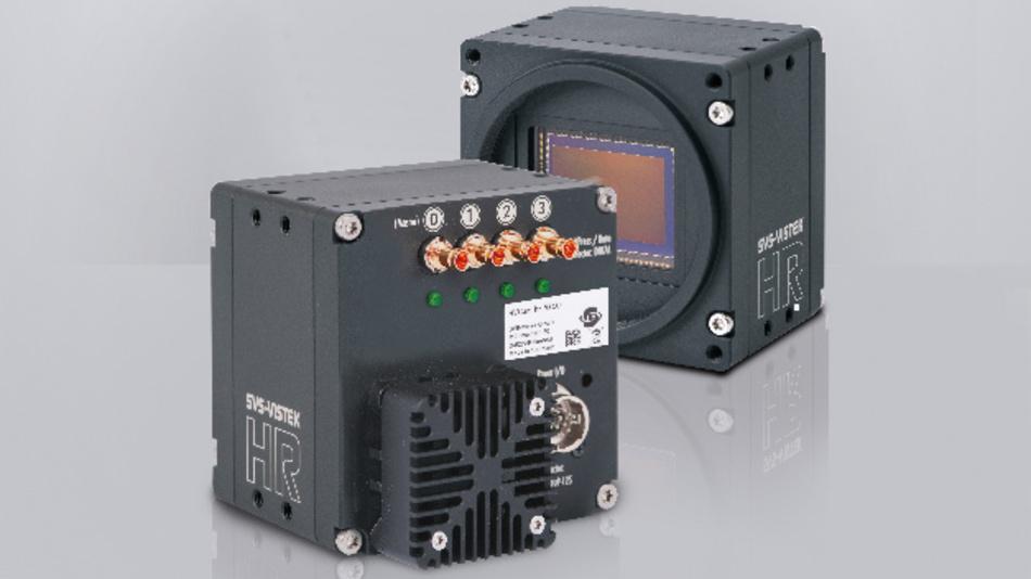 Mit einer Framerate von 35,4 Bildern pro Sekunde ist die neue CoaXPress-Kamera hr342 von SVS-Vistek die derzeit schnellste Industriekamera auf dem Markt.