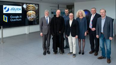Forschungszentrum Jülich und Google vereinbaren Partnerschaft zu Quantencomputern