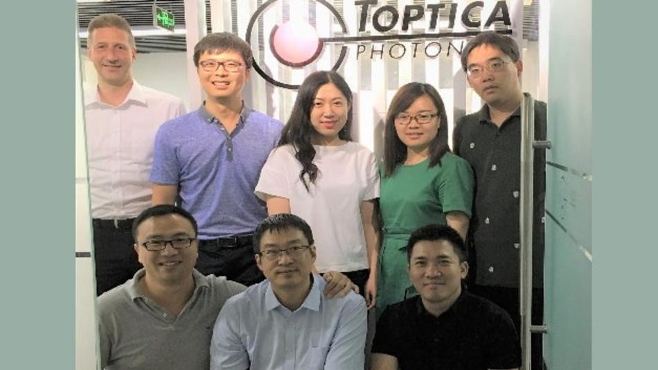 The team of Toptica Photonics China