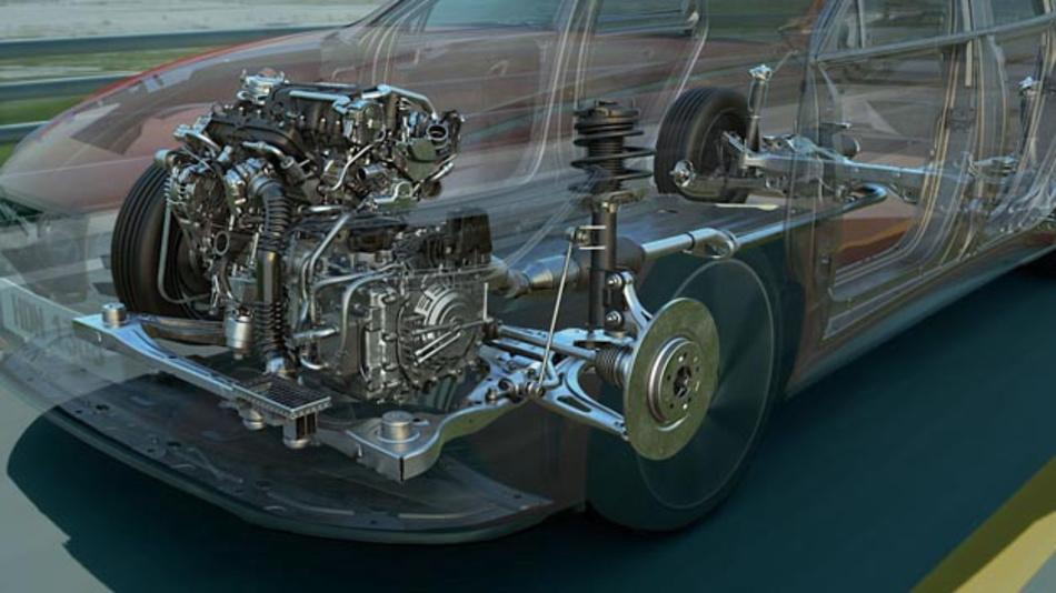 Hyundai stellt mit der CVVD eine intelligente Ventilsteuerung in Abhängigkeit der Fahrsituation vor.