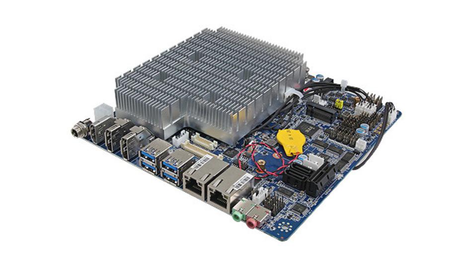 Die Thin-Mini-ITX-Motherboards der EMX-Serie von Avalue unterstützen verschiedene Prozessoren.
