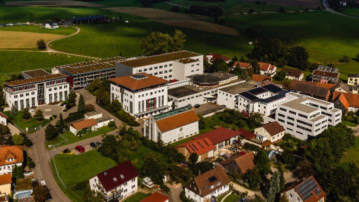 Luftbild Telenot Firmensitz