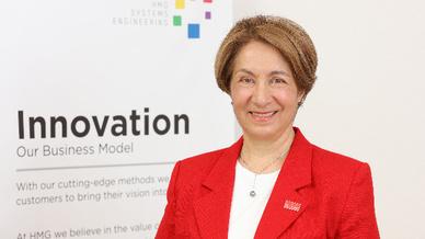 Herna Munoz-Galeano, Gründerin und glückliche Preisträgerin