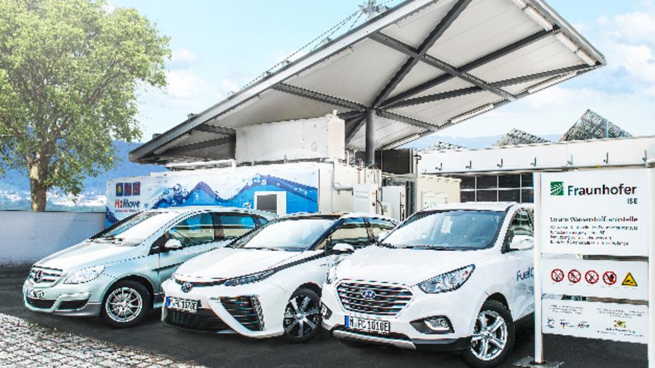 Fahrzeuge mit Brennstoffzellentechnik schnitten in einer Studie des Fraunhofer ISE bei höheren Reichweiten bei den Treibhausgas-Emissionen besser ab als Batteriefahrzeuge.