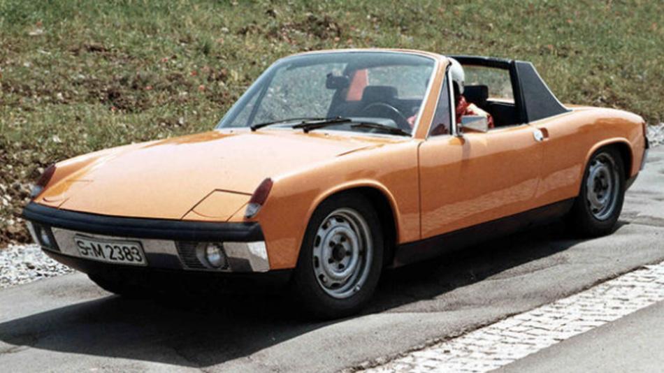 Der Porsche 914 war eine Gemeinschaftsentwicklung von Porsche und Volkswagen und bildete ab dem Modelljahr 1970 das neue Porsche Einstiegsmodell.