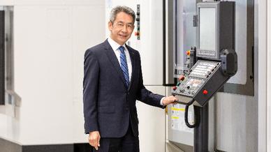 Takeshi Yamamoto CEO Okuma Europe