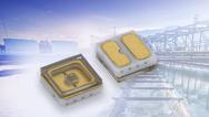 Neue UVC-LED VLMU35CL ist 3,5 mm x 3,5 mm x 1,2 mm groß.
