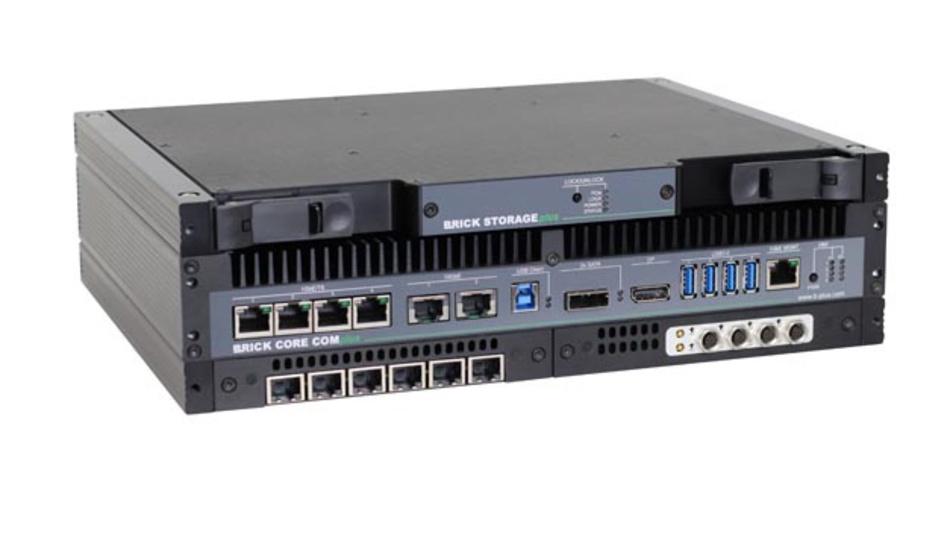 Mit den Brick Add-Ons von b-plus lässt sich eine zeitsynchrone Multi-Sensor-Aufnahme durch flexible Recorder Schnittstellen sicherstellen.