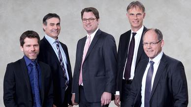 Der Vorstand von ifm electronic