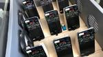 Endgeräte im Messfahrzeug zur Mobilfunkabdeckung