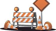 Umleitung Baustelle Straßensperre
