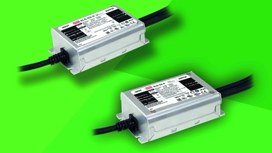 LED-Treiber der XLG-25/50-Serie von Mean Well (Vertrieb: Emtron)