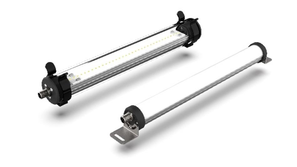 Leuchten für den rauen Einsatz an Maschinen, Anlagen und Produktionsplätzen