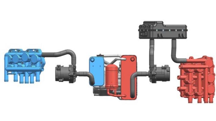Mahle hat ein Wärmepumpen-basiertes System entwickelt, das eine Reichweitensteigerung von bis zu 20 Prozent im Vergleich zu herkömmlichen Thermomanagement-Systemen verspricht.