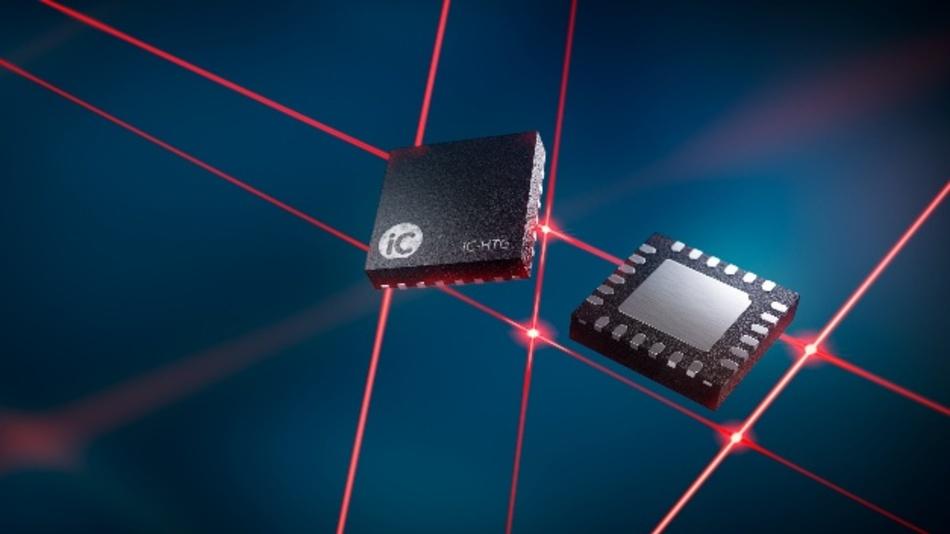 Laser-Treiber mit extern skalierbarem Leistungsteil