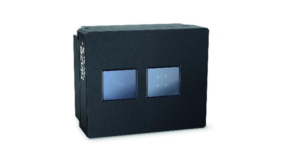 Die 3D-ToF-Kamera »Basler blaze« ermöglicht Echtzeit-Streaming von vorverarbeiteten 3D-Punktwolken und 2D-Intensitätsbildern.