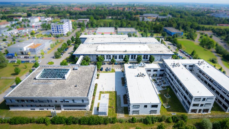 Der Technologie-Campus von Kontron in Augsburg.