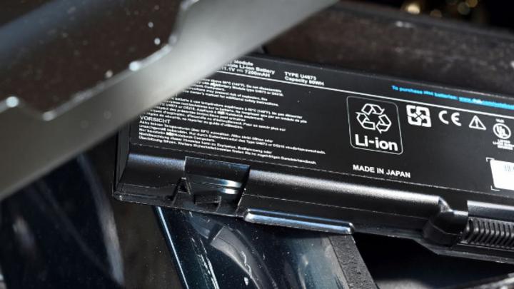Ein Lithium-Ionen-Akku.