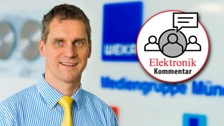 Gerhard Stelzer, Editor-at-Large der Elektronik und Elektronik automotive