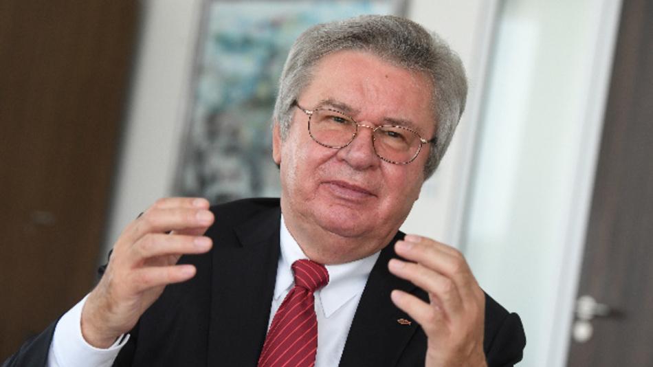 Klaus Fischer, Inhaber der Unternehmensgruppe fischer.