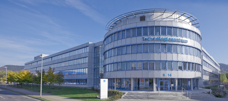 Technologiezentrum von Jenoptik in Jena